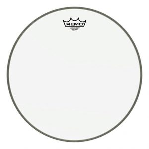 For the best drum heads for recording, Remo is the industry standard: Remo Ambassador Hazy Snare Side Drumhead, 14 Inch