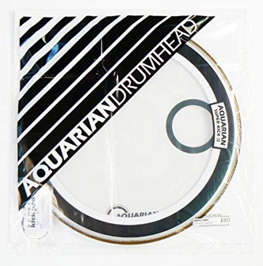Aquarian Drumheads Super-Kick II Drumhead Pack SKII22 Clear