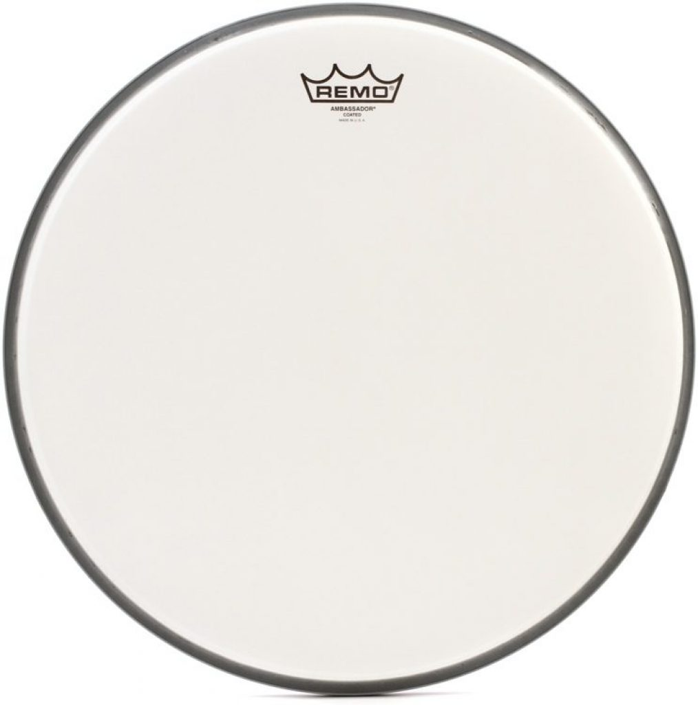 Remo ambassador coated bass drum head - photo 4
