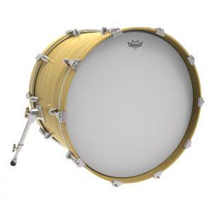 Remo ambassador coated bass drum head - photo 1