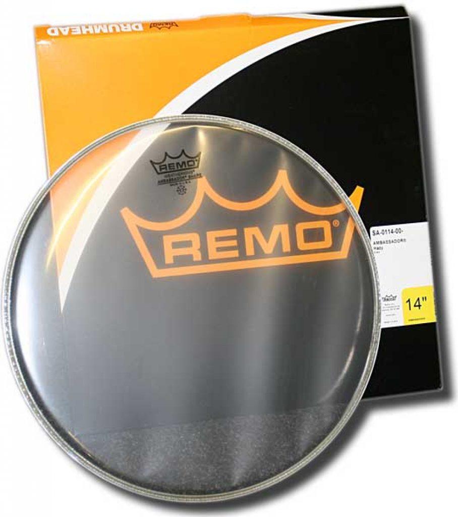Remo ambassador hazy snare drumhead - photo 1