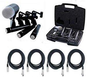Shure dmk57 52 drum kit xlr cables - photo 2