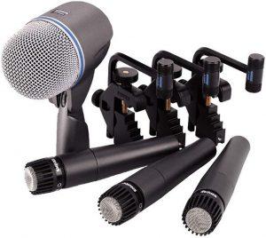 Shure dmk57 52 drum microphone kit - photo 2