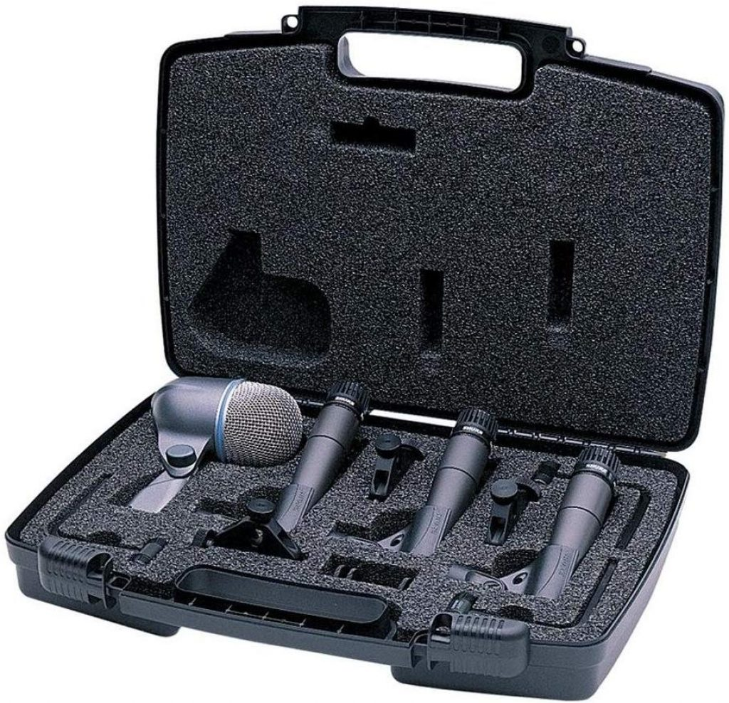 Shure dmk57 52 drum microphone kit - photo 3