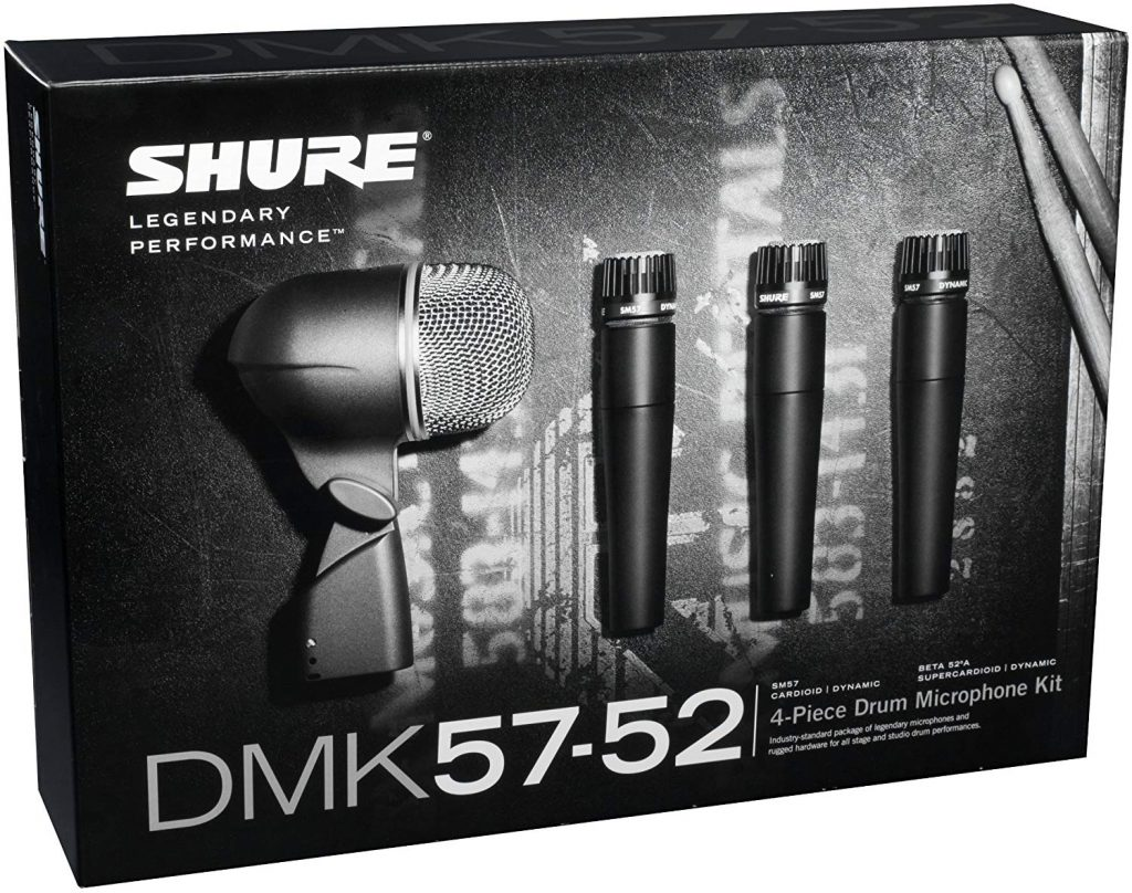 Shure dmk57 52 drum microphone kit - photo 4