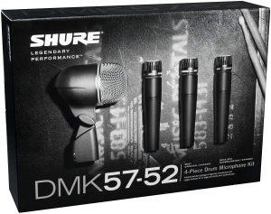 Shure dmk57 52 drum microphone kit - photo 4