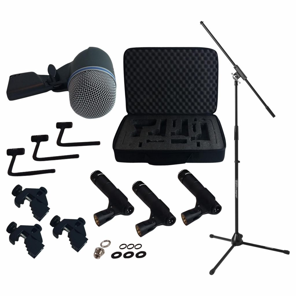 Shure dmk57 52 drum microphone kit - photo 1
