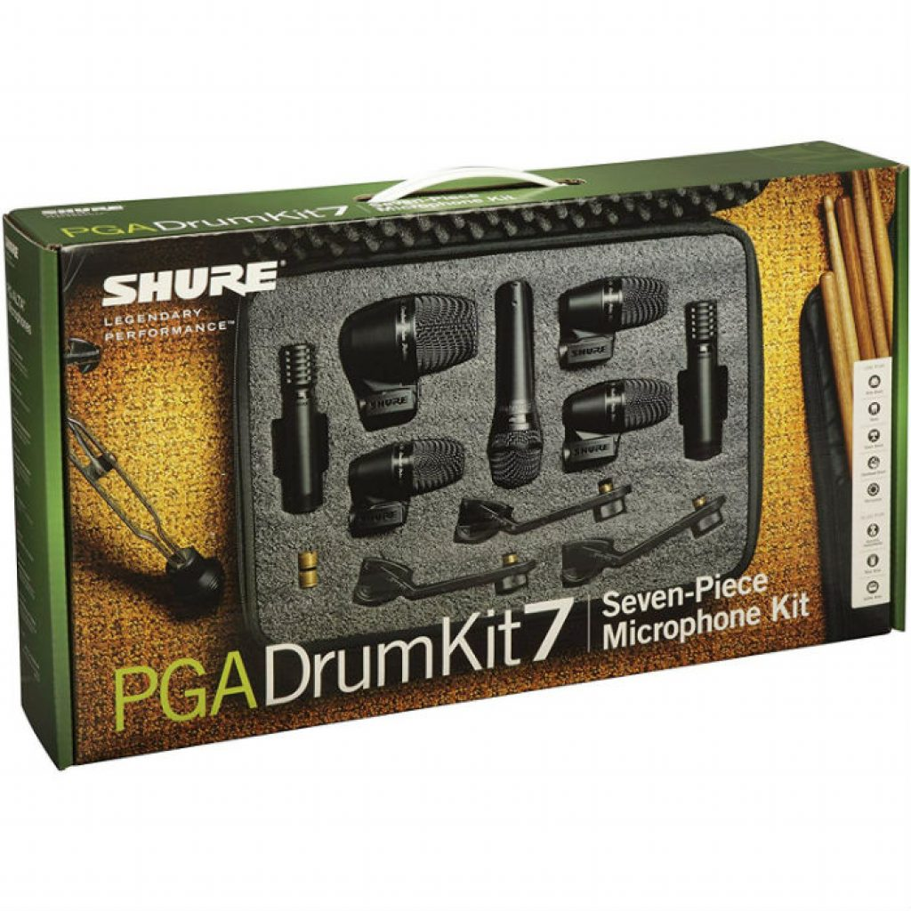 Shure pgadrumkit 7 piece kit - photo 1