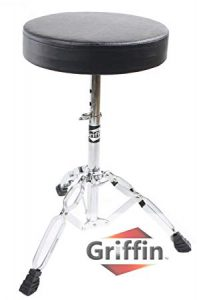 Drum Throne Stand by Griffin – The Best Drum Throne for Tall Guys