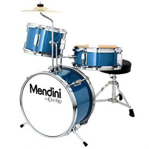Mendini by Cecilio 13 Inch 3-Piece – Beginner Drum Set for Kids