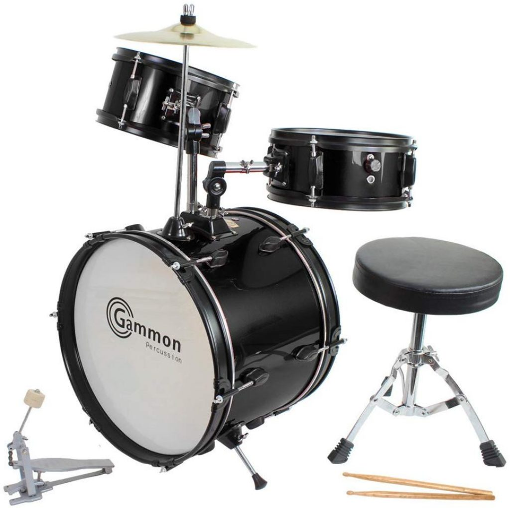 Drum set black complete junior set - photo 1