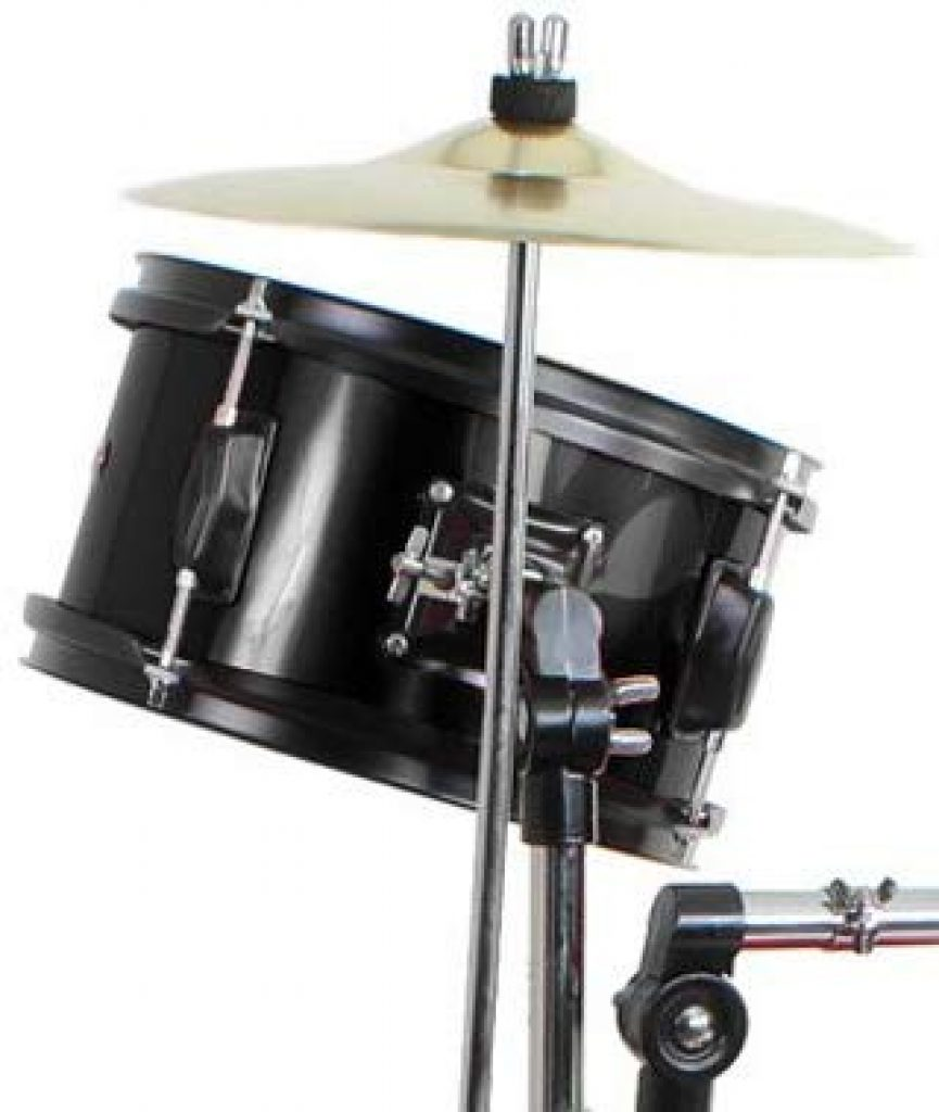 Drum set black complete junior set - photo 4