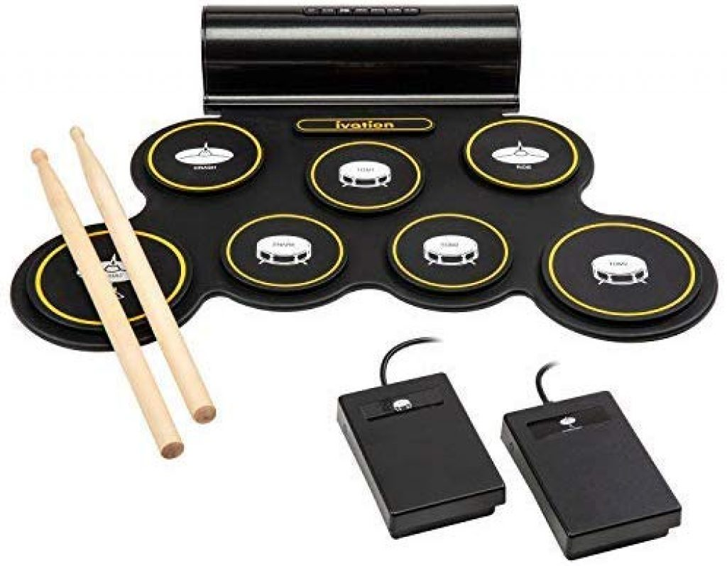 Ivation portable drum pad - photo 1