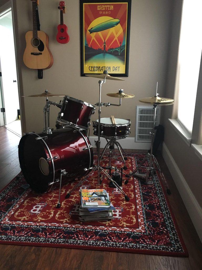 best drum rug