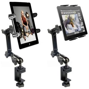 Best Tablet Holder for Mic Stand for On-Stage Performances