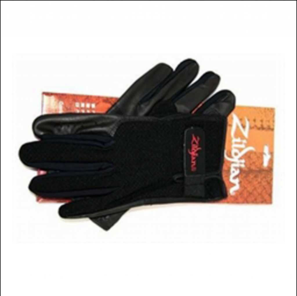 Stick Handler™ Professional Drummers Gloves White Small