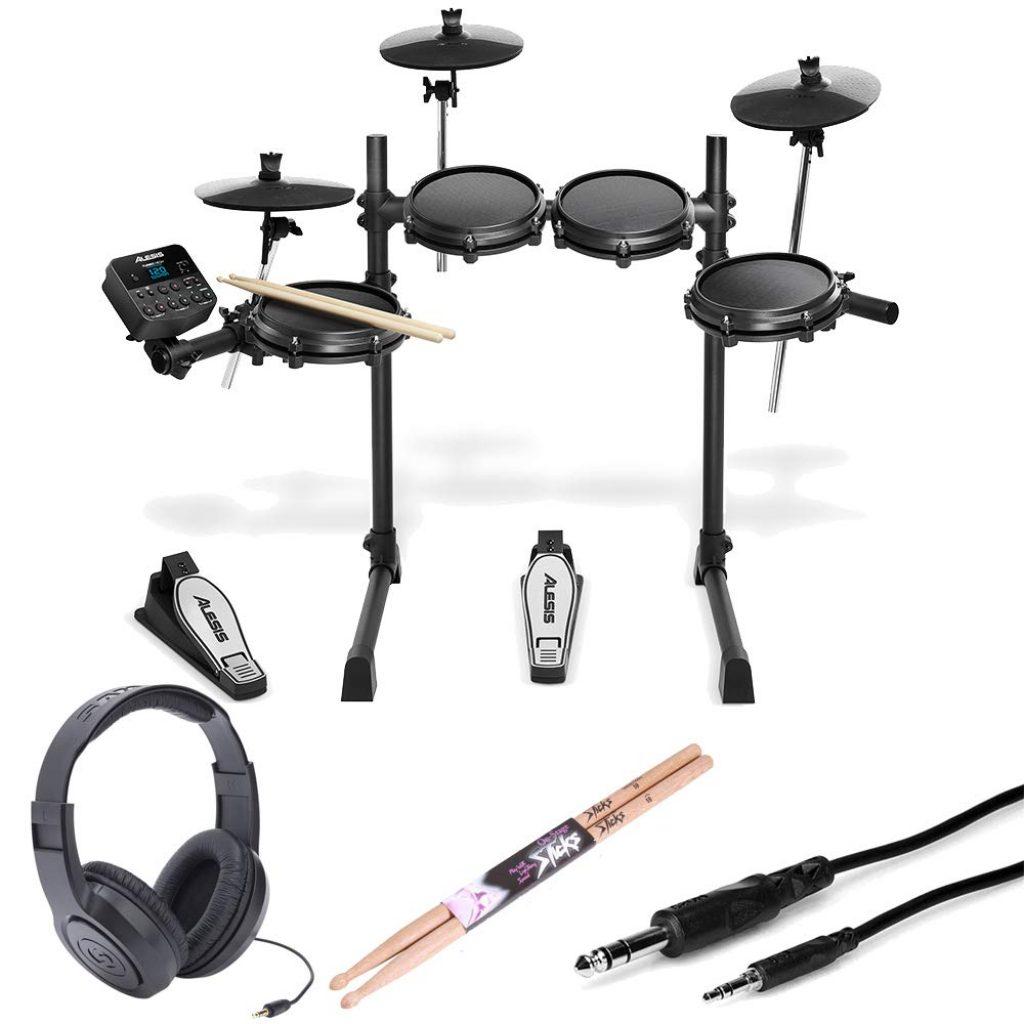 Alesis turbo mesh 7 piece electronic drum kit - photo 4