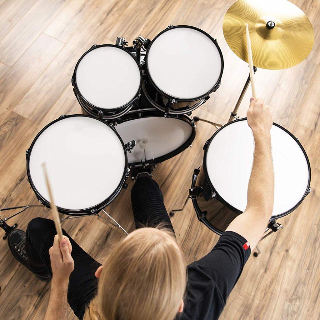 Bcp 5 piece complete full size drum set - photo 4