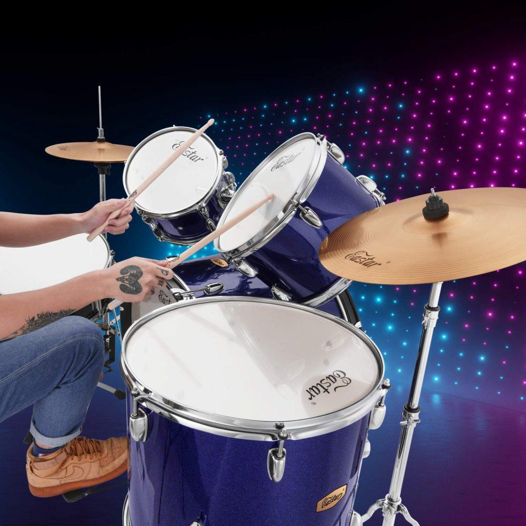 Eastar 22 drum set kit full size - photo 2