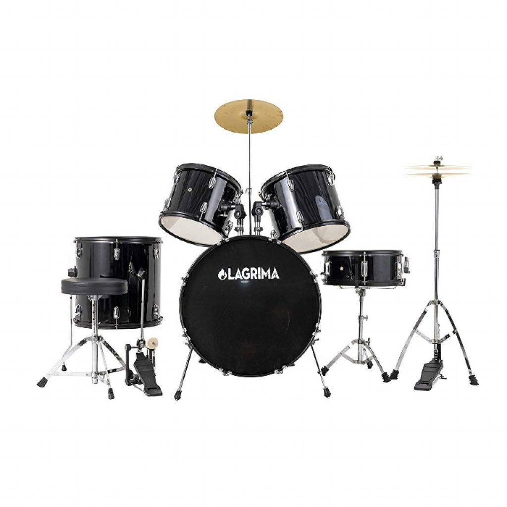 Lagrima 5 piece full size drum set - photo 1