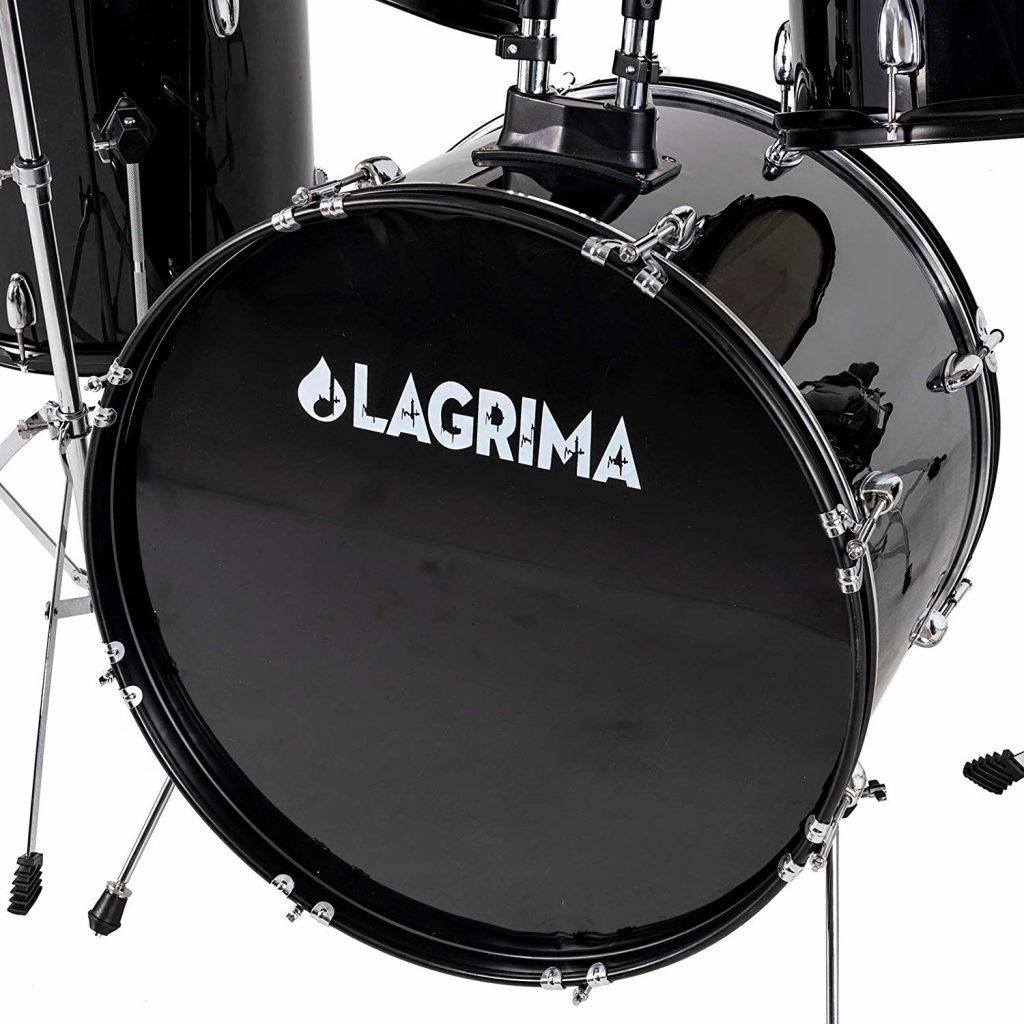 Lagrima 5 piece full size drum set - photo 4