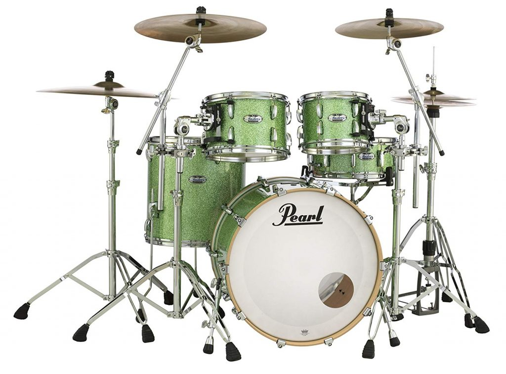Pearl masters maple complete mct924x edp 4 drum pack - photo 1