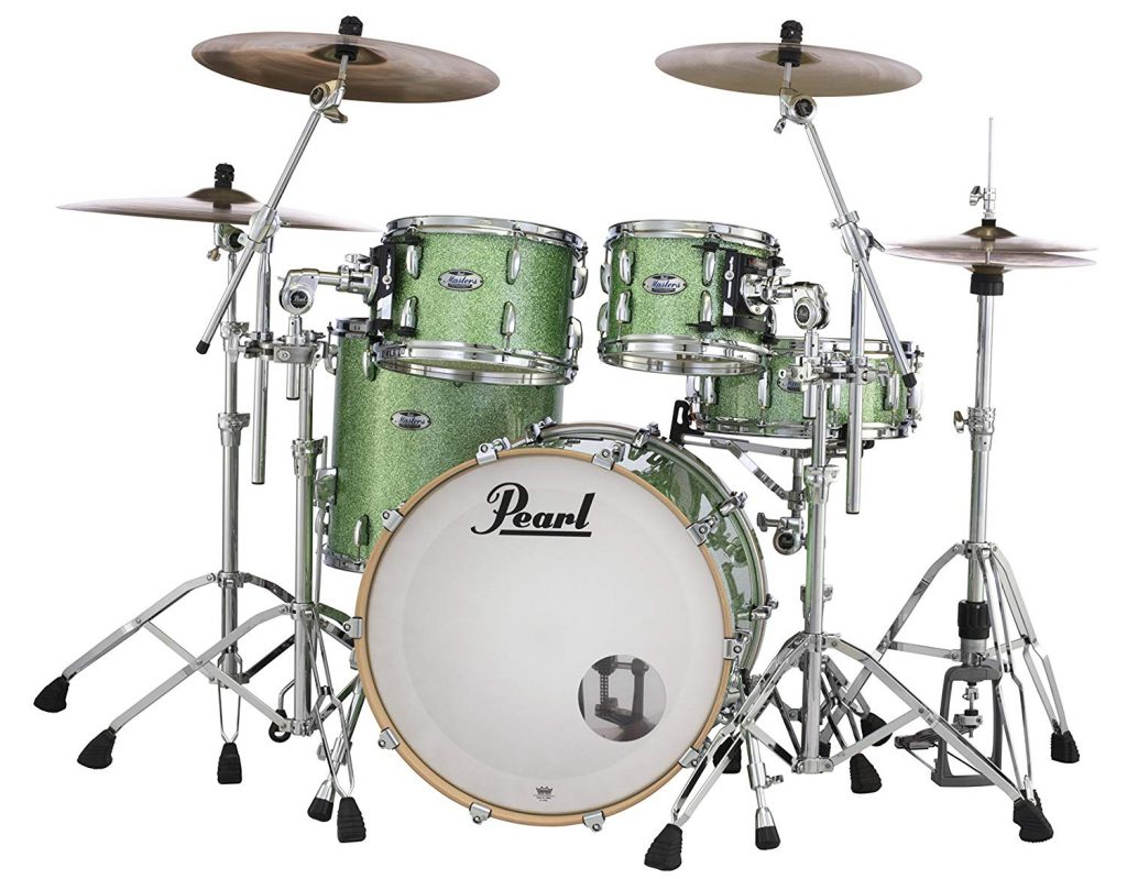 Pearl masters maple complete mct924x edp 4 drum pack - photo 3