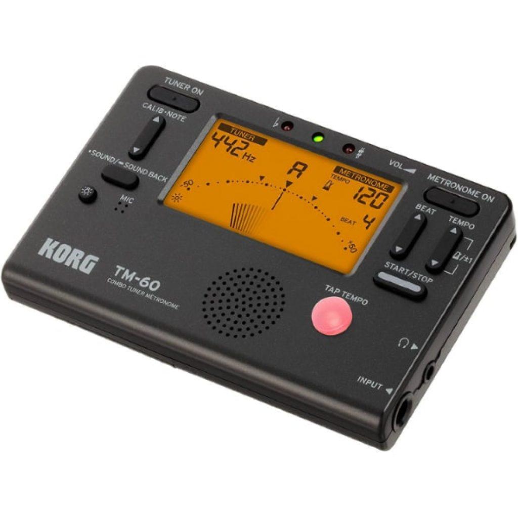 Korg-TM60BK-Tuner-Metronome