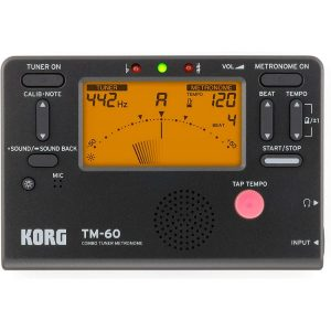 Korg-TM60BK-Tuner-Metronome-Black