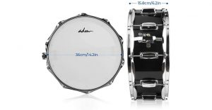 ADM Student Snare Drum Set sizes
