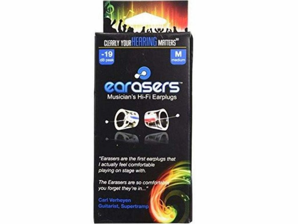 Earasers Musicians Plugs
