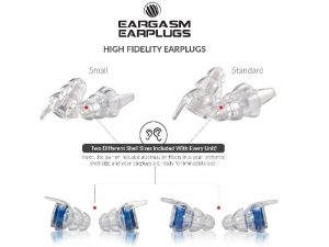 Eargasm High Fidelity Earplugs for Concerts