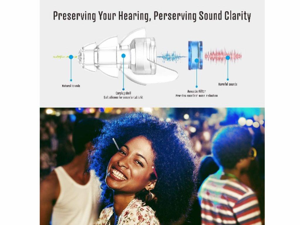 High Fidelity Concert Ear Plugs