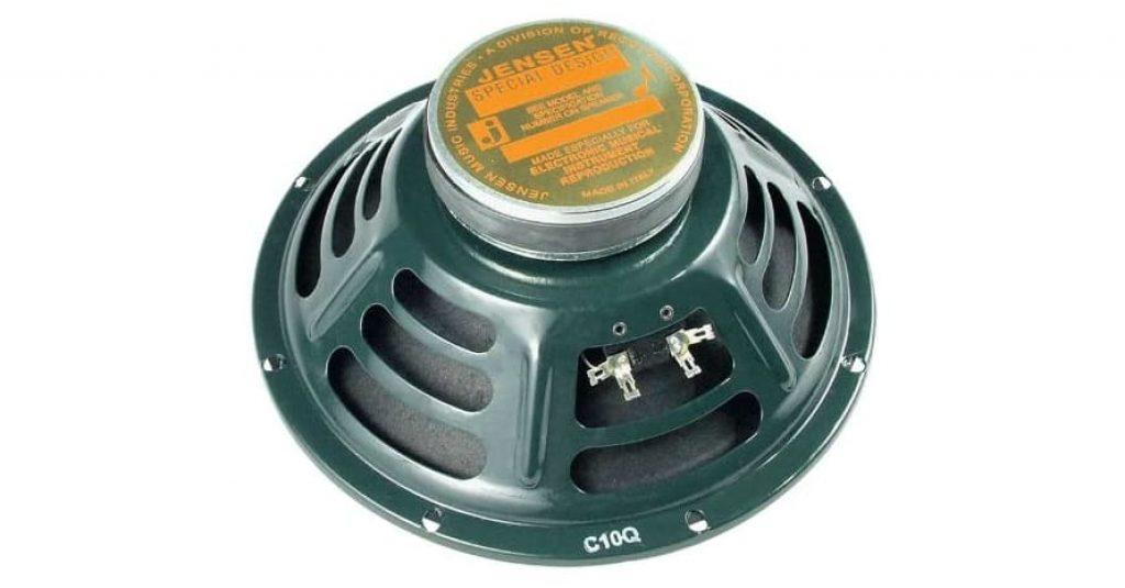 Jensen Speaker, Green, 10-Inch