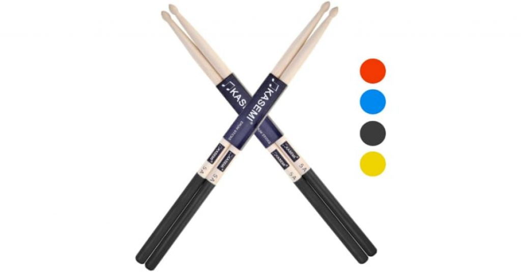 KASEMI Drum Sticks Non-Slip