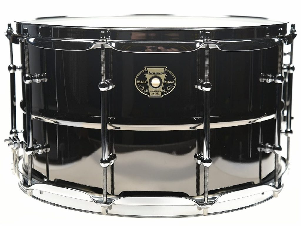 Ludwig 8x14 Black Magic Snare Drum