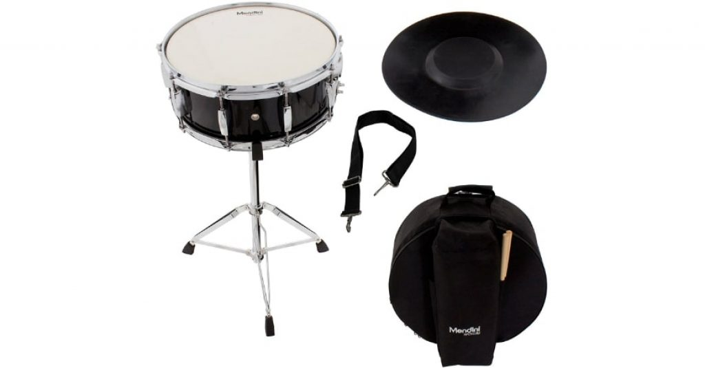 Mendini Student Snare Drum Set with Gig Bag