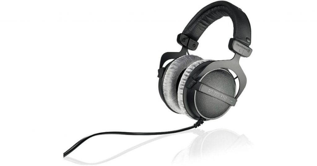 beyerdynamic DT 770 PRO 250 Ohm Over-Ear Studio Headphones in Black.