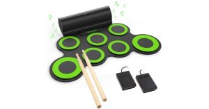 PAXCESS Electronic Drum Set Roll Up