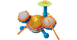 VTech KidiBeats Kids Drum Set Orange