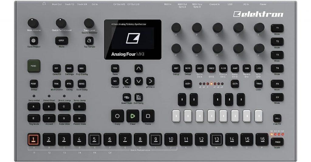 Elektron Analog Four MKII 4 Drum Machine