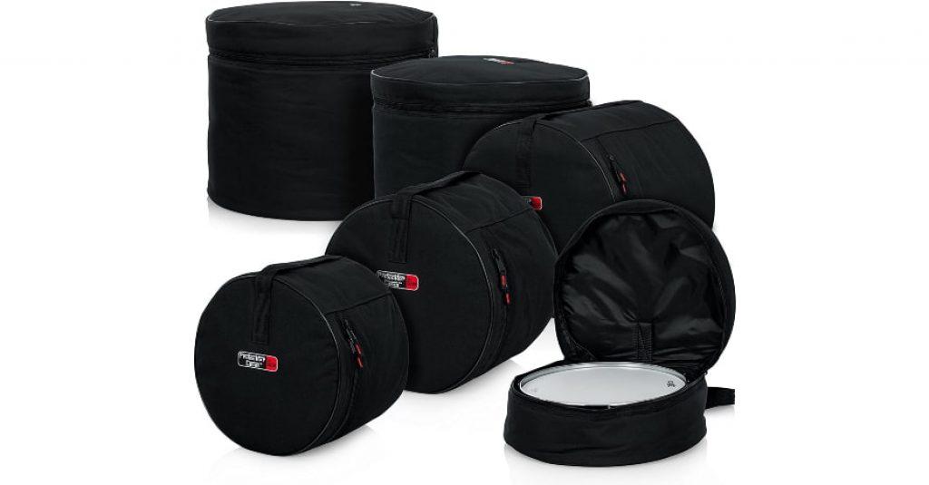 Gator Cases Protechtor Series 5 piece Padded Drum Bag Set