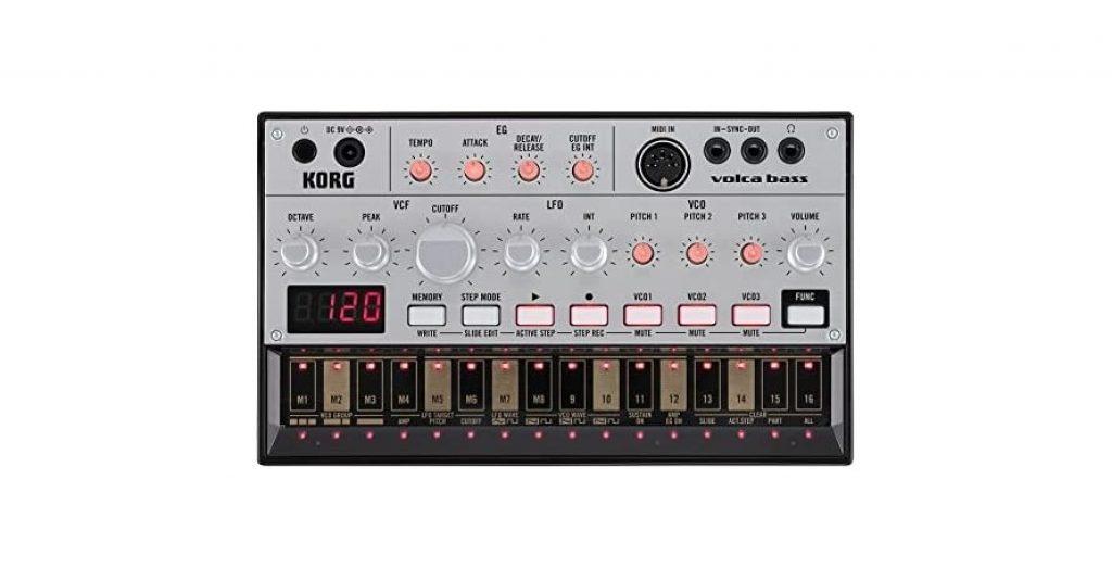 Korg Volca Bass Analogue Bass Machine Bundle