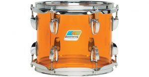 Ludwig Amber Vistalite Zep Drum Set
