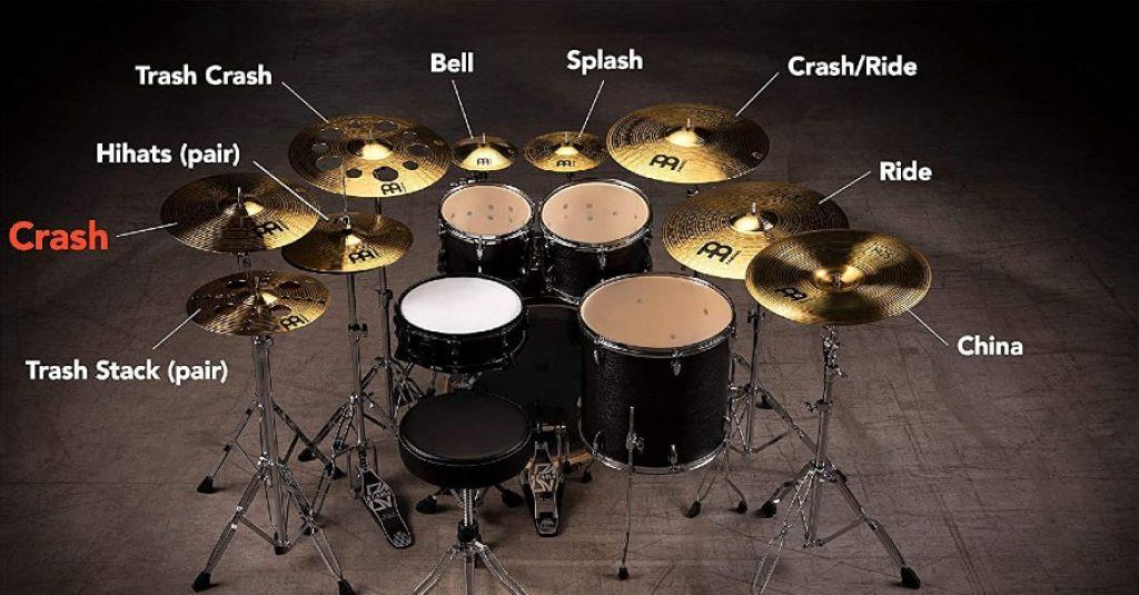 Meinl Percussion 14-inch Crash Cymbal
