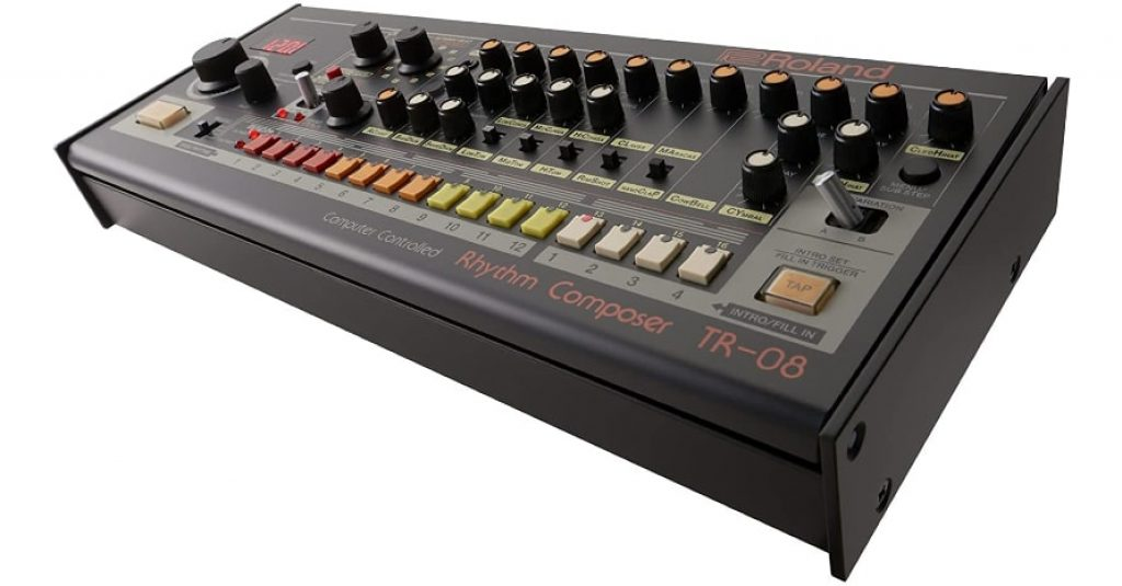 Roland Rhythm Composer, 10 Outputs TR-08 Drum Machine