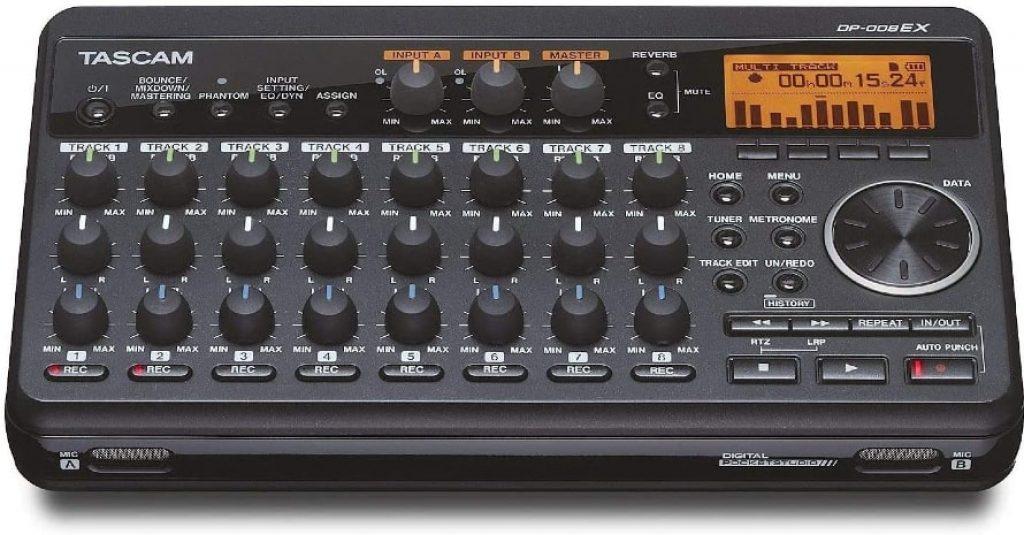 Tascam DP-008EX 8-Track Digital