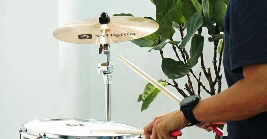 Vangoa Crash Cymbal, 16-inch B8 Crash Cymbal Kit for Drum Set