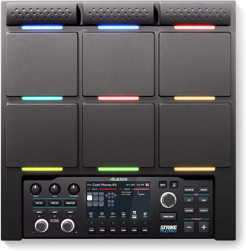 Alesis Strike Multipad 9-Trigger Percussion Pad with RGB Backlighting, Sampler, Looper image 2