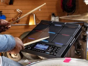 Alesis Strike Multipad 9-Trigger Percussion Pad with RGB Backlighting featured image